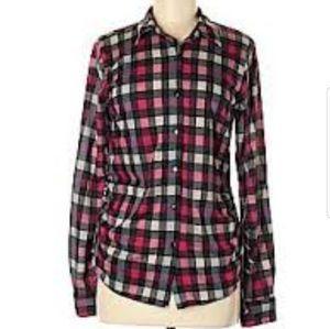 Anthropologie flannel shirt